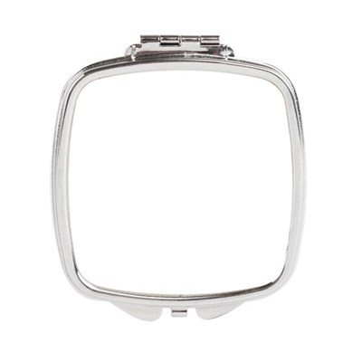 Square Compact Mirror