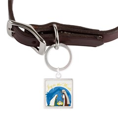 nativity scene cp.png Large Square Pet Tag