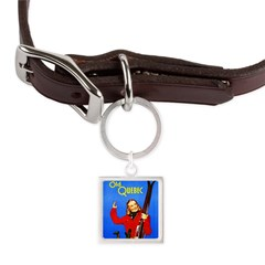 Quebec Travel Poster 1 Large Square Pet Tag
