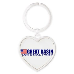 Great Basin National Park Heart Keychain