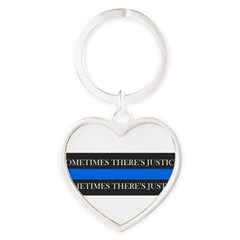 Just Us Heart Keychain