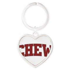 CHEW Design Heart Keychain