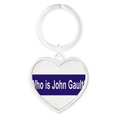Who is John Gault? Heart Keychain