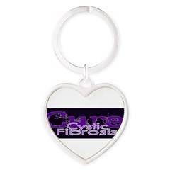 Bumper Stickers Heart Keychain