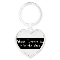 Ghost Hunters Do It Heart Keychain