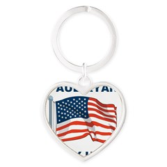 Paul Ryan is my Hero! Heart Keychain