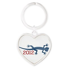 Newt 2012 Drawing Heart Keychain