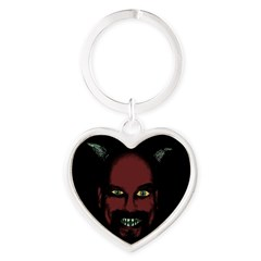 Devil Heart Keychain