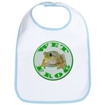 Wet Pond Frog Bib