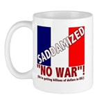 France Saddamized Mug