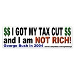 I Got a Tax Cut Bumper Sticker
