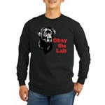 Obey the Lab Long Sleeve Dark T-Shirt
