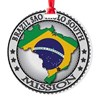 Brazil Sao Paulo South LDS Mission Round Ornament