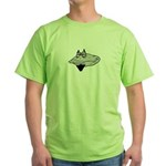 Bearded Clam Green T-Shirt