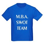 MBA SWOT Team Kids Dark T-Shirt