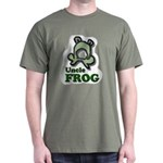 Uncle Frog's Pond Military Green T-Shirt