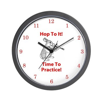 Hop To It Violin Practice Clock