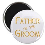 Sherbet Father of the Groom Magnet