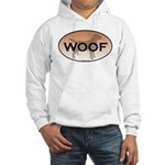 Labrador Woof Hooded Sweatshirt