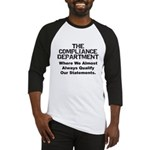 Qualified Compliance Baseball Jersey