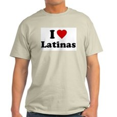 I Love [Heart] Latinas Light T-Shirt