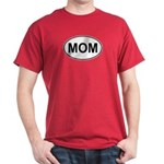 Mom European Oval Mother's Day Dark T-Shirt