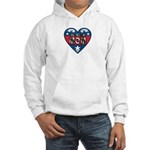 Heart Wonder Mom Mother's Hooded Sweatshirt