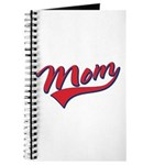 Baseball Style Swoosh Mom Journal