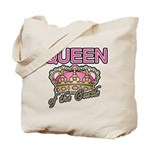 Queen of the Castle Crown Mother Tote Bag