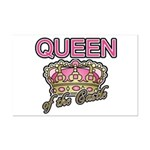 Queen of the Castle Crown Mother Mini Poster Print