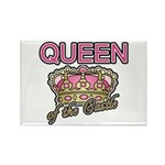 Queen of the Castle Crown Mother Rectangle Magnet