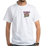 Queen of the Castle Crown Mother White T-Shirt
