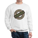 Mom Name Brand Apparel Logo Sweatshirt