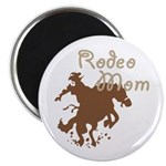 Rodeo Mom Wester Cowboy Cowgirl Magnet