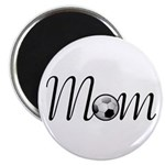 "Pretty Soccer Mom Mother's Day 2.25"" Magnet (10 pa"