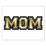 Golden Mom Name Gold Letters Small Poster