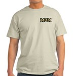Golden Mom Name Gold Letters Light T-Shirt
