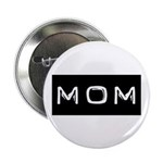"Dymo Black Label Me Mom Mother 2.25"" Button (10 pa"