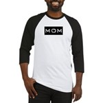 Dymo Black Label Me Mom Mother Baseball Jersey