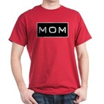 Dymo Black Label Me Mom Mother Dark T-Shirt