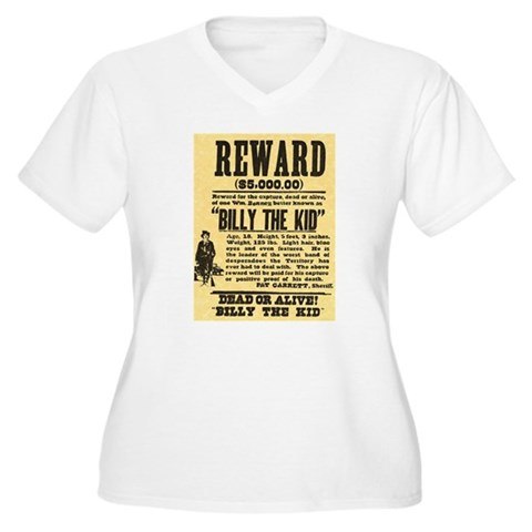 billy the kid dead picture. Billy The Kid Dead or Alive T-Shirt