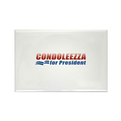 Condoleezza for President Rectangle Magnet (10 pac