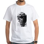 Plato Truth Reality White T-Shirt