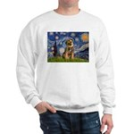Starry Night / Border Terrier Sweatshirt