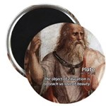 "Plato Education: 2.25"" Magnet (100 pack)"