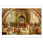 Raphael School of Athens Small Poster