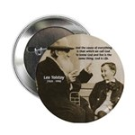 Leo Tolstoy: God Quotes Button