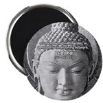 "Buddha Buddhism Quote Picture 2.25"" Magnet (100 pa"