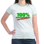 100% Environmentally Unfriend Jr. Ringer T-Shirt