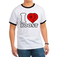 I heart boost (turbo)  T-shirt